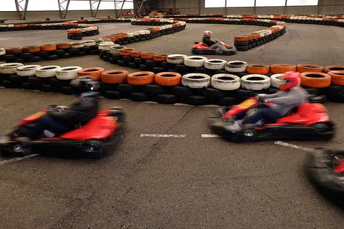 Get Your Adrenaline Fix at Autobahn Indoor Speedway