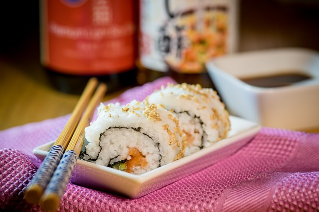 Grab Sushi and Happy Hour Drinks at 8 AT LUK FU